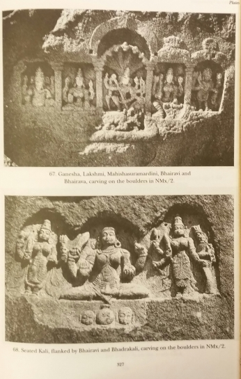 Bhairavai sculptures