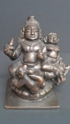 Rama Sita seated