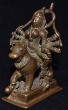 Durga left