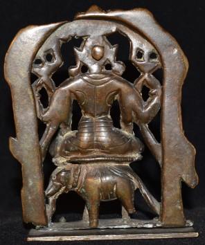 Gajalakshmi elephant back