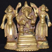 Ganesha with attendants