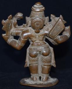 Rama Chaturbhuja back