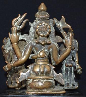Umamaheshwara attendant back