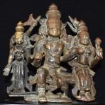 Umamaheshwara with attendant