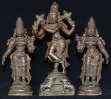 Venugopala with consorts