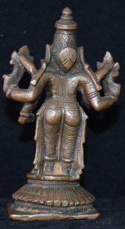 Vishnu lakshmi back