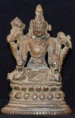 Vishnu seated pala