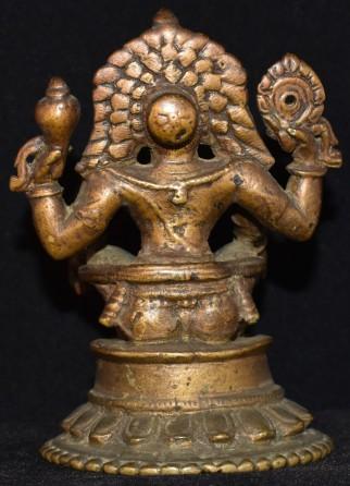 Yoga narasimha back