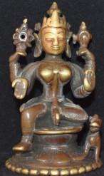 Durga and vahana