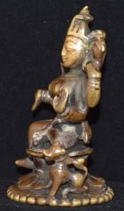 Durga vahana left
