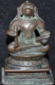 Hanuman singing