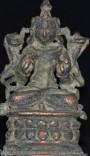 Surya seated Pala