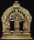 Vishnu and consorts GJ