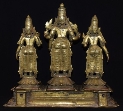 Vishnu consorts back GJ