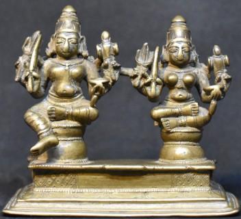 Bhairava and Bhairavi