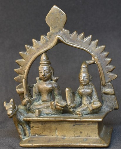 Khandobha seated
