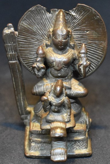 Surya on a chariot