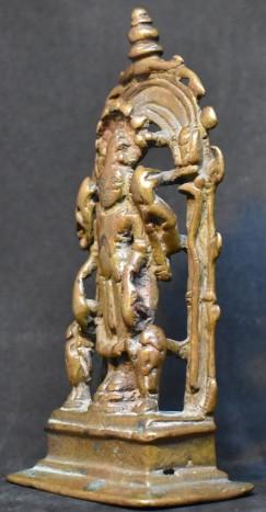 Vishnu Triad Central India side