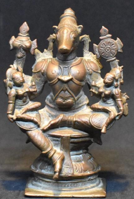 Varaha with consorts