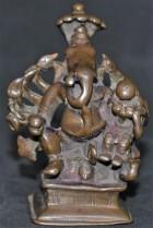 Mahaganapati with cobra