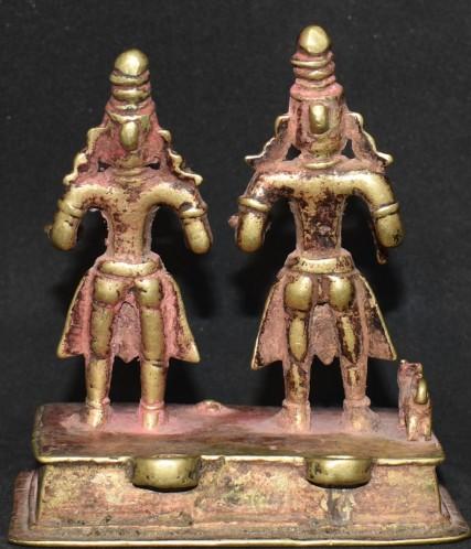 Khandobha with Mahalsa standing back
