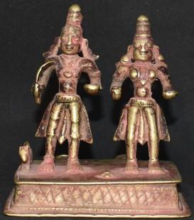 Khandobha with Mahalsa Standing