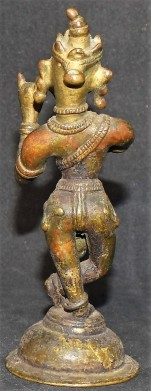 Venugopala back flute direction