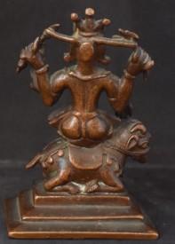 Shiva on a Bull (back)