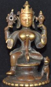 durga with lion Orissa