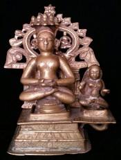 Thirthankkara with nun