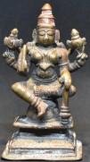 vaishnavi seated with Gada
