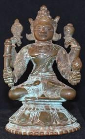 vishnu seated Orissa