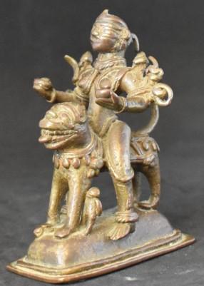 Durga on a lion