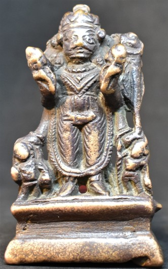Four armed Surya