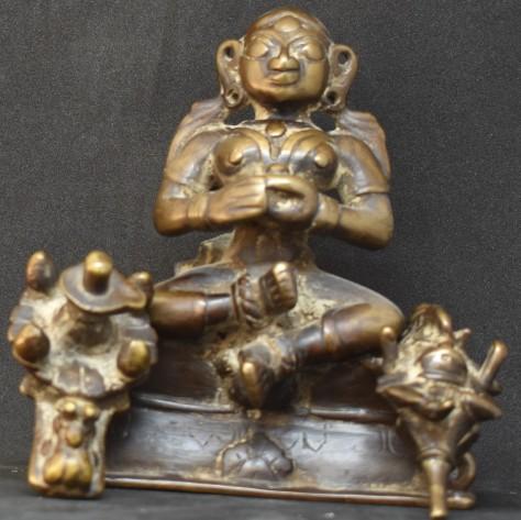 Gauri Ganesha and Linga