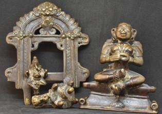 Gauri with Ganesha parts