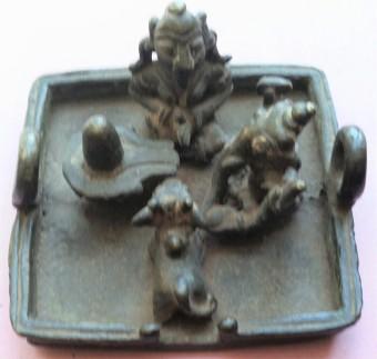 Parvati Ganesha linga Nandi