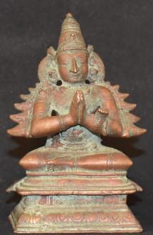 Seated Garuda