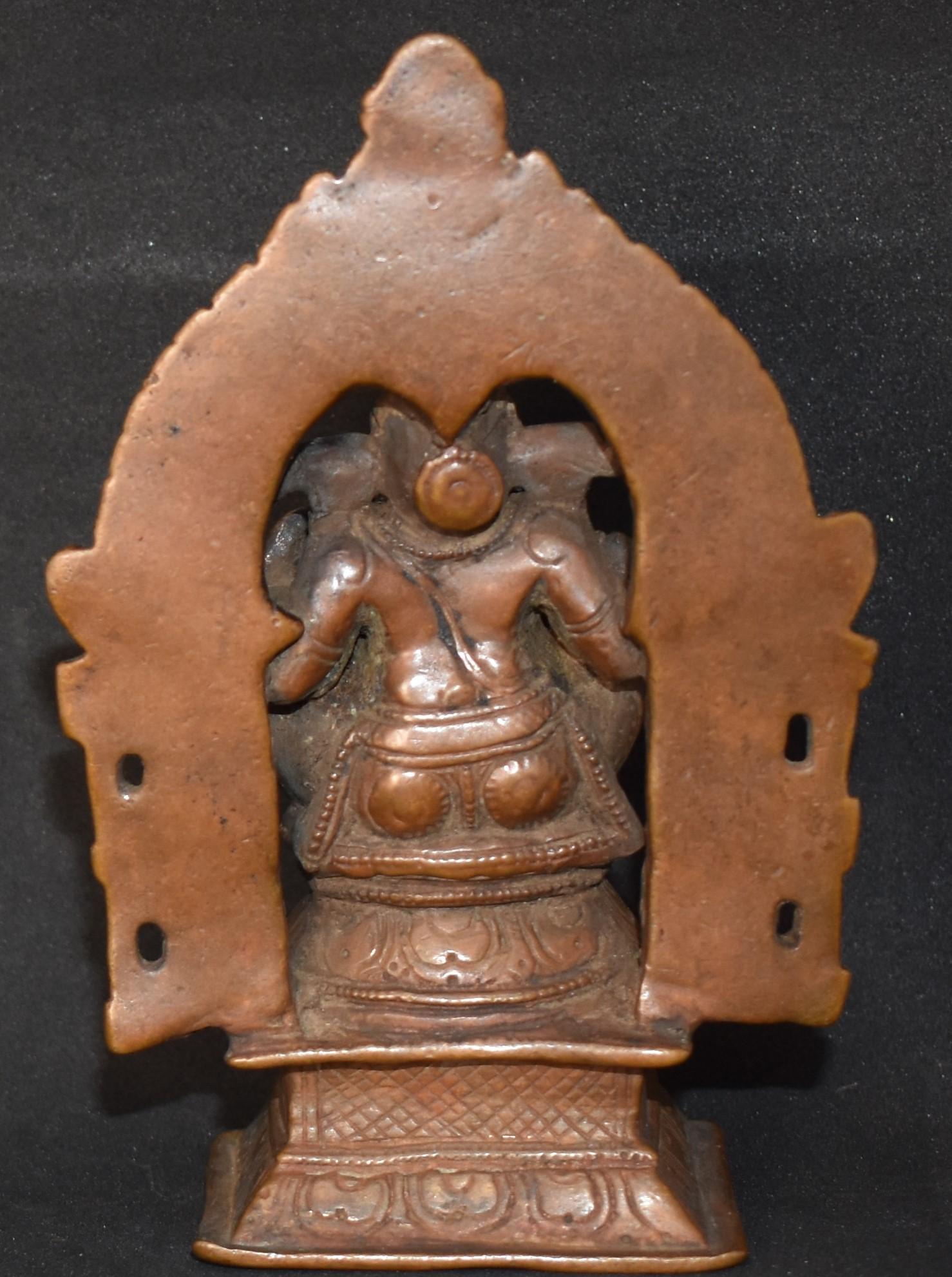 Ganesha with prabhavali back