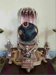 Saligram stand Padmanabhaswamy