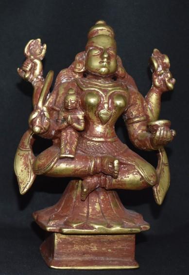 Bhairavi with devotee