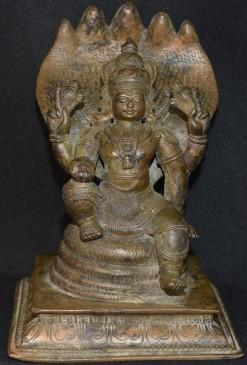 Seated Kerala Vishnu