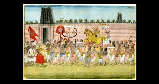 Srirangam procession