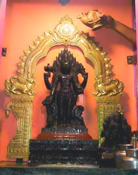 This image has an empty alt attribute; its file name is bhairava-mylapore.jpg